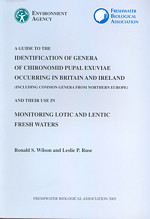 A guide to the identification of genera of chironomid pupal exuviae occuring in Britain and Ireland (including common genera from Northern Europe and their use in monitoring lotic and lenitic fresh waters.