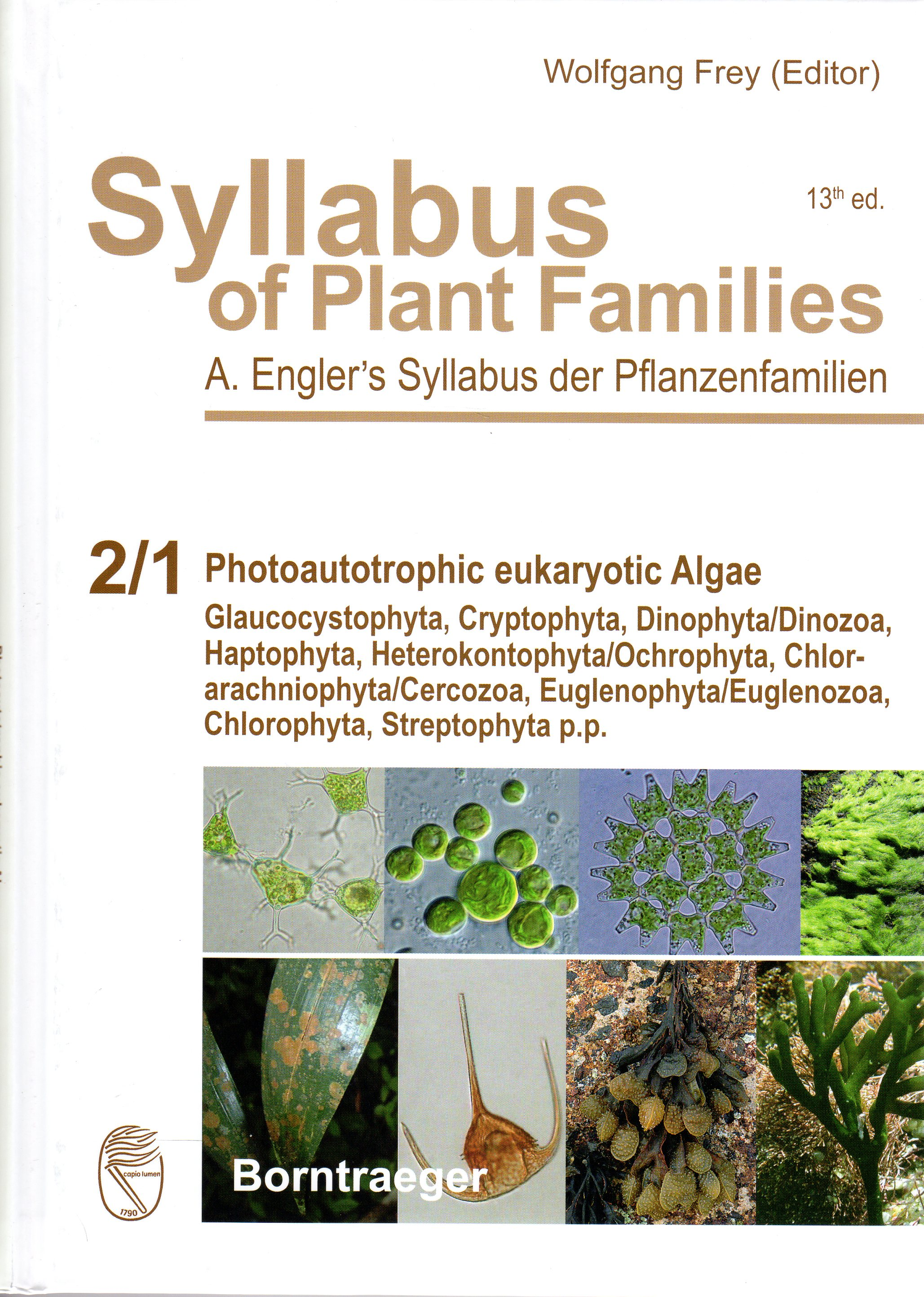 Blindow, I. et al. (2015): Part 2/1. Photoautotrophic eukaryotic Algae