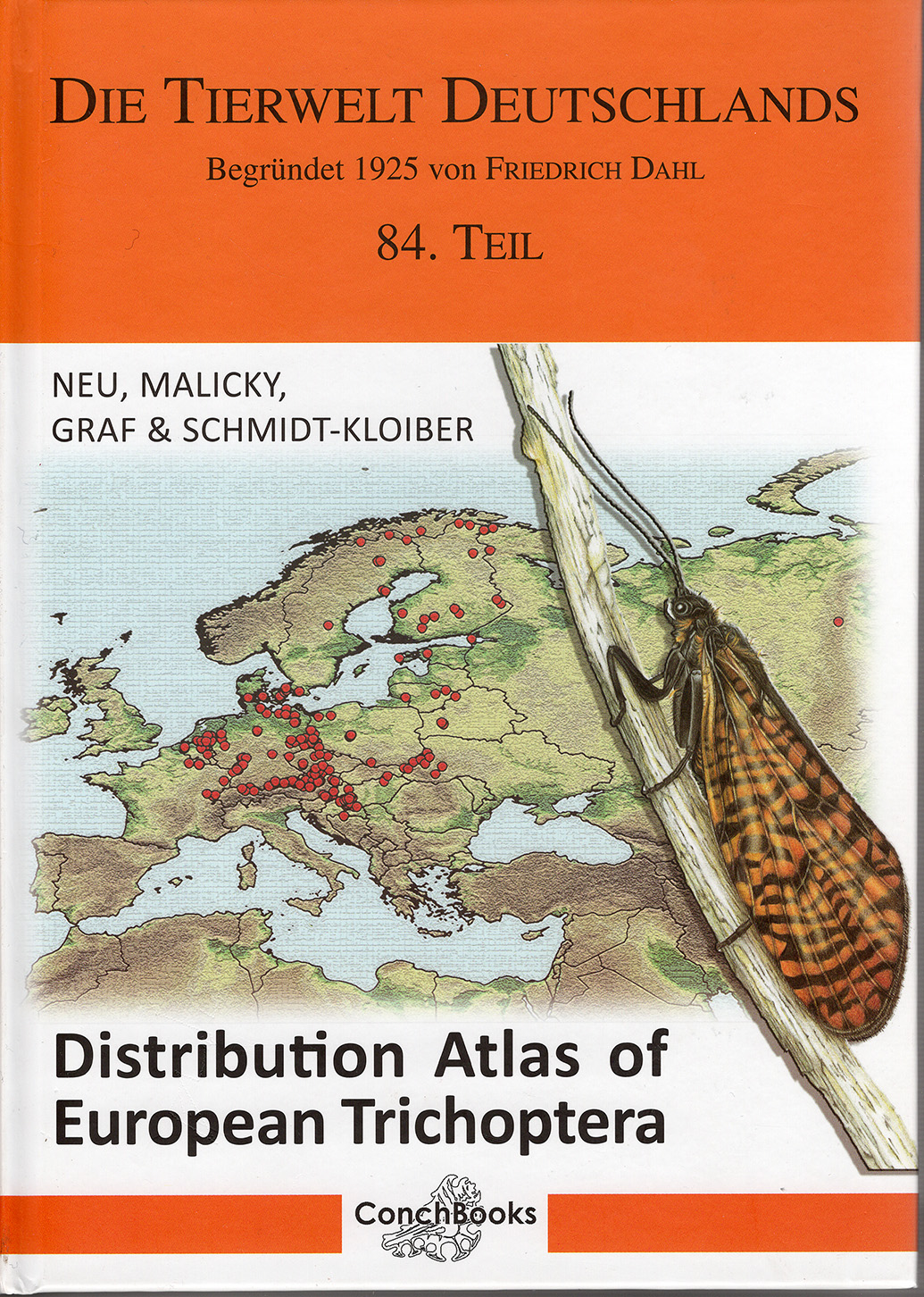 Distribution Atlas of European Trichoptera